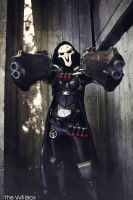 Reaper : You cannot bargain with death by bloodravencosplay