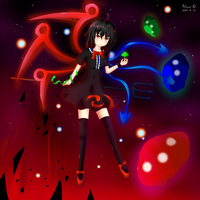 Nue Houjuu - The Unidentified by palinus