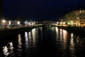 Spree at night by Daemare