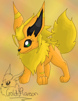 Delta the Flareon by GoldFlareon