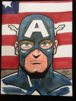 Captain America by sirandal