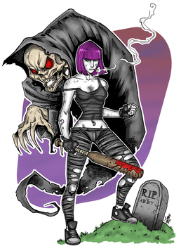 ABBY and DEATH by Laxus
