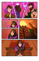 SCAD Challenge Comic: Pg 3 by Magistelle