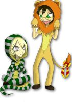 .Hogwarts Mascots. by YuuiHime