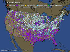 Nearly 10,000 Cold Records Set- In the US Alone! by Kajm