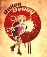 Derby Girl by Beebeefoke