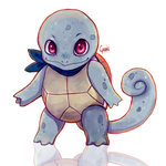 Squirtle (+ Painting Video!) by Cyarin