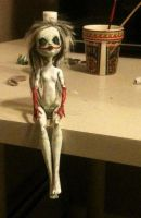 Creepy Doll -WIP- by Recipe-4-Disater