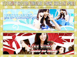 [CoverZing] Tiffany with Blue and Red by lapep999
