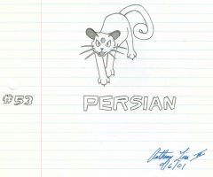 Persian by bfsnorlax