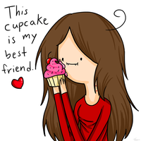 This Cupcake is My Best Friend by Pencil13