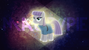 Wallpaper: Maud Pie by MadBlackie