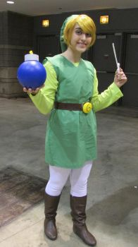 Toon Link Cosplay by Sarah-chan8