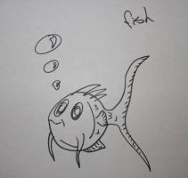 My fish always have bubbles by creecreehoneybees