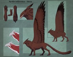 Nytfir reference - Sivra by Sythgara