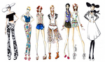 Floral 14 2 Collection by SketchDrayton