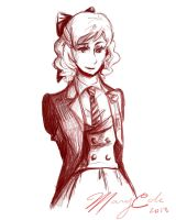 Mary Cole (Fem!Maurice Cole) by whitewestie13