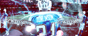 LaDainian Tomlinson Sign by FodsSFA