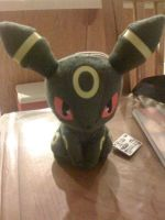 My Umberon Plushie by Gamerdragon07