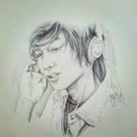 Ballpoint LeeMinHo Done by Project-Slevin