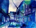 Gloomyness in a Rainy City by Fetting