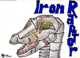 Badge: Iron Raptor by Catwoman69y2k