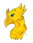 Chocobo by Hylian-Rinku
