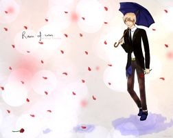 APH-Rain of roses by Yuko-tan