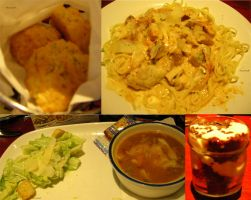 Biscuits, Linguine, Salad, Soup, and Cake in a Jar by rcmacdonald