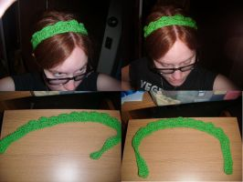 St. Patrick's Day Headband by Ambrosial-Wolf