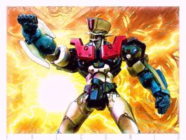 Mazinger 1901 04A color by AngeloFalconio