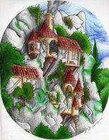 HOUSE IN THE RISK by elquijote