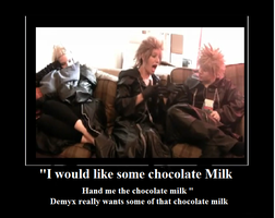 i want some chocolate milk by DoroDRR