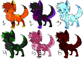 Point Adoptables by Wolfy-Artist