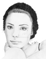 Shannyn Sossamon's portrait by airforlife2011