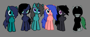 Another Group Picture by RainbowDashFatality