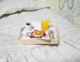 12th scale breakfast in bed3 by PetiteCreation