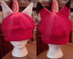 Red Fox Hat by Hieiskittygirl