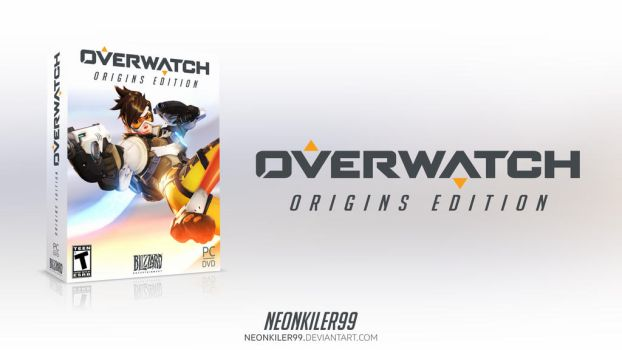 Overwatch Origins Edition Cover Box by neonkiler99