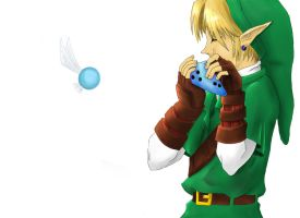 Link (Ocarina of Time) by mnb73