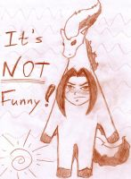 NOT FUNNY! by Ami-sensei