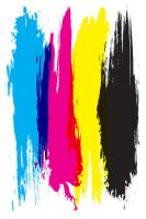 CMYK paint by tinamin1