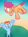 ATG Day 12: How to Fly by ChrisRainicorn