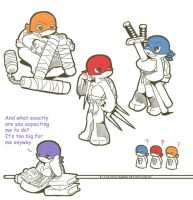 TMNT: Toys for big boys by NamiAngel