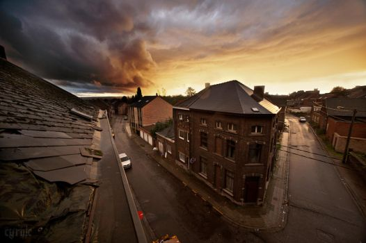 Charleroi rooftopping by CyrnicUrbex