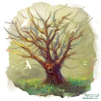 Cute tree by bocho