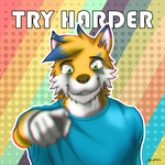 TRY HARDER by gupa507