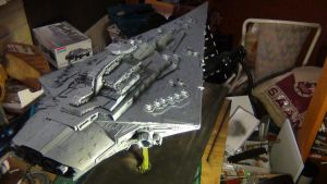 BELLATOR CLASS STAR DESTROYER COMPLETED 3 by THE-WHITE-TIGER