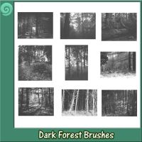 Dark Forest Brushes by Trash63