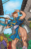 Chun-Li (Colors) by BraedenPenberg